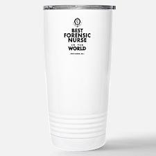The Best in the World Nurse Forensic Travel Mug