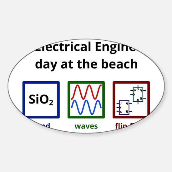 An Electrical Engineer's day at the Sticker (Oval)