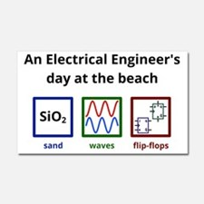 An Electrical Engineer's day at Car Magnet 20 x 12
