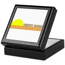 Freeport, Bahamas Keepsake Box
