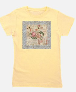 Roses Romantic and Lace Girl's Tee