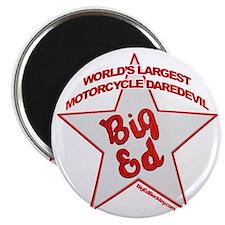 Big Ed Beckley star logo Magnet