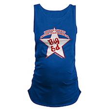 Big Ed Beckley star logo Maternity Tank Top