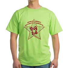 Big Ed Beckley star logo T-Shirt