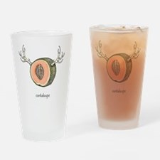 cantaloupe Drinking Glass