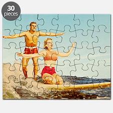 vintage surfers Puzzle