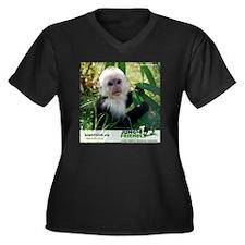 Baby Dylan Women's Plus Size Dark V-Neck T-Shirt