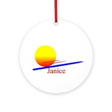 Janice Ornament (Round)