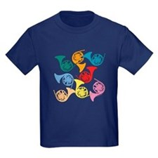 Colorful French Horns T