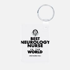 The Best Nurse in the World Neurology Keychains