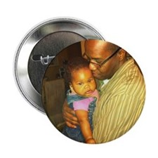 """Hannah and Dad 2.25"""" Button"""