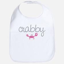 mom and baby crabby Bib