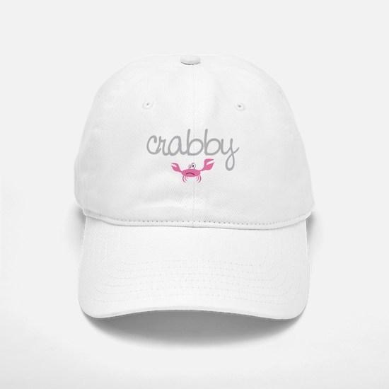 mom and baby crabby Baseball Baseball Cap