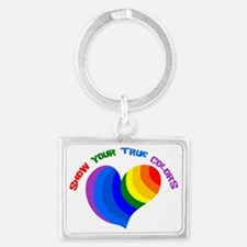 Show Your True Colors Landscape Keychain