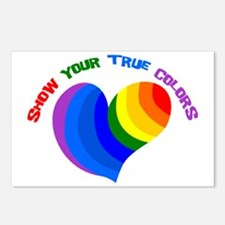Show Your True Colors Postcards (Package of 8)