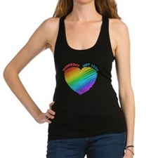Different Not Less Racerback Tank Top
