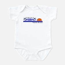 Its Better In Freeport, Baham Infant Bodysuit