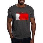Bahrain Bahraini Flag Dark T-Shirt