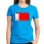 Bahrain Bahraini Flag Women's Dark T-Shirt
