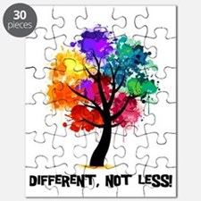 Different Not Less Puzzle