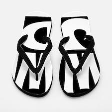 W W J D Flip Flops