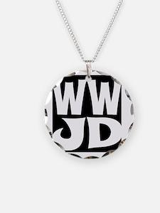 W W J D Necklace