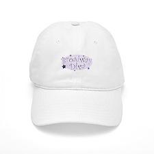 """Broadway Diva"" [purple] Baseball Cap"