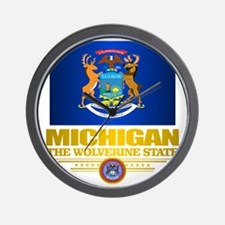 Michigan Pride Wall Clock
