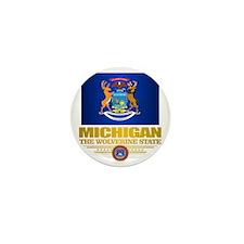Michigan Pride Mini Button
