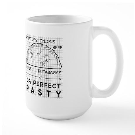 Da Perfect Pasty No Carrots Large Mug