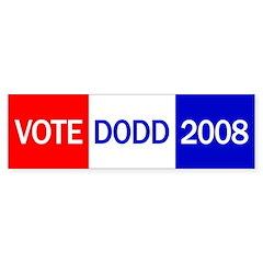 Vote Dodd 2008 Bumper Sticker