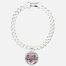Survivor in Heart Bracelet