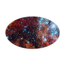 Galaxy of Stars Nebula Oval Car Magnet