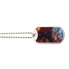 Galaxy of Stars Nebula Dog Tags