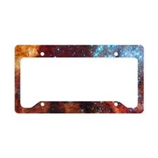 Galaxy of Stars Nebula License Plate Holder