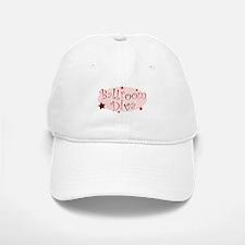 """Ballroom Diva"" [red] Baseball Baseball Cap"