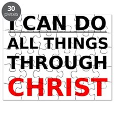 I Can Do All Things Through Christ Puzzle
