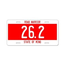 Road Warrior License Plates Aluminum License Plate