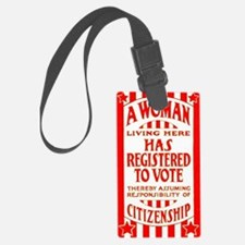 Citizenship Door Sticker Luggage Tag