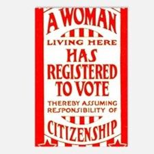 Citizenship Door Sticker Postcards (Package of 8)
