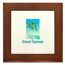 Grand Cayman Framed Tile