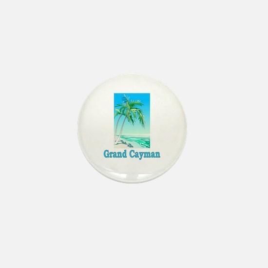 Grand Cayman Mini Button