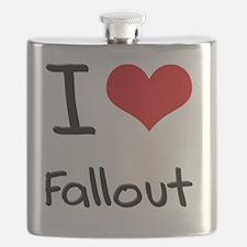 I Love Fallout Flask