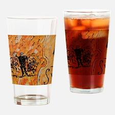 Symphony Print Drinking Glass