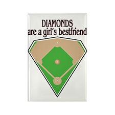 Diamond Field Rectangle Magnet