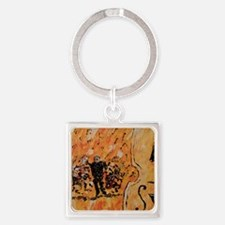 Symphony Poster Print Square Keychain