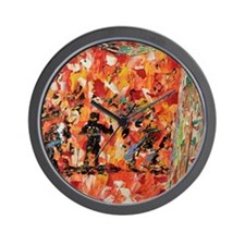 All That Jazz Wall Clock