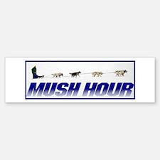 mush hour Bumper Bumper Bumper Sticker