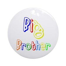 Big Brother (Multi) Ornament (Round)