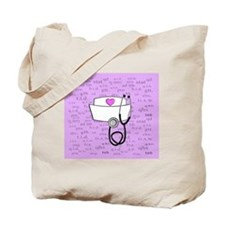 Nurse Pink Tote Bag
